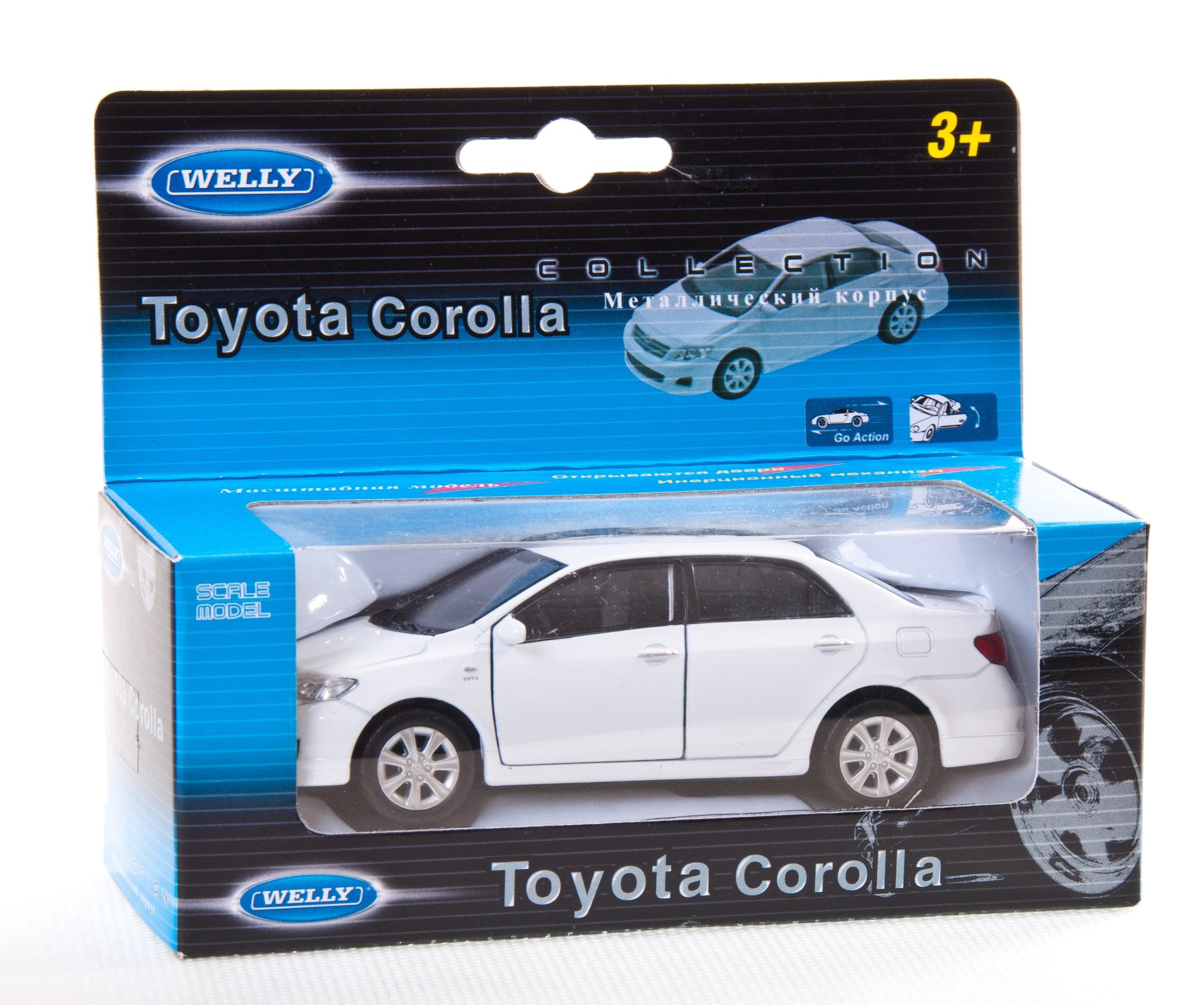Игрушечные машинки и техника Welly Toyota Corolla welly toyota corolla 1 34 39