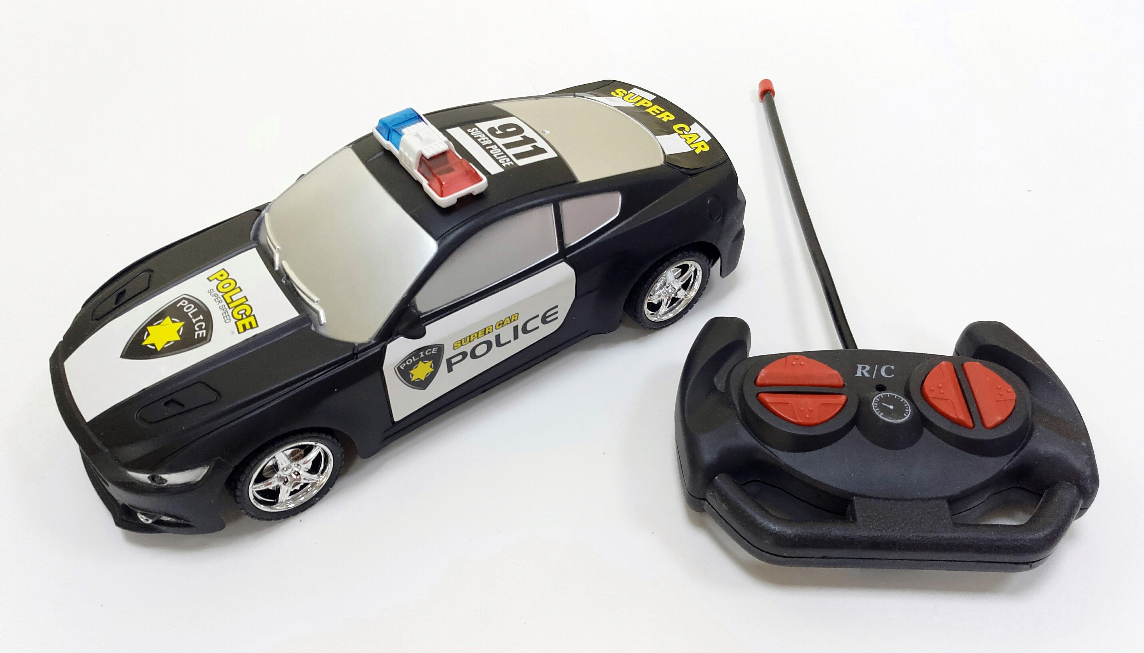 Машинки и мотоциклы База игрушек полицейская радиоуправляемые игрушки