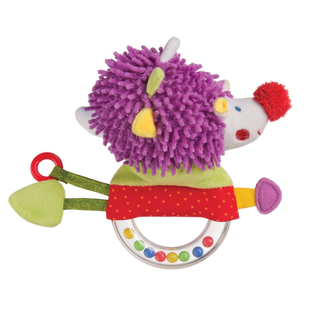 Погремушки Happy baby Погремушка-пищалка Happy Baby «Funny Hedgehog» happy baby погремушка пищалка funny hedgehog