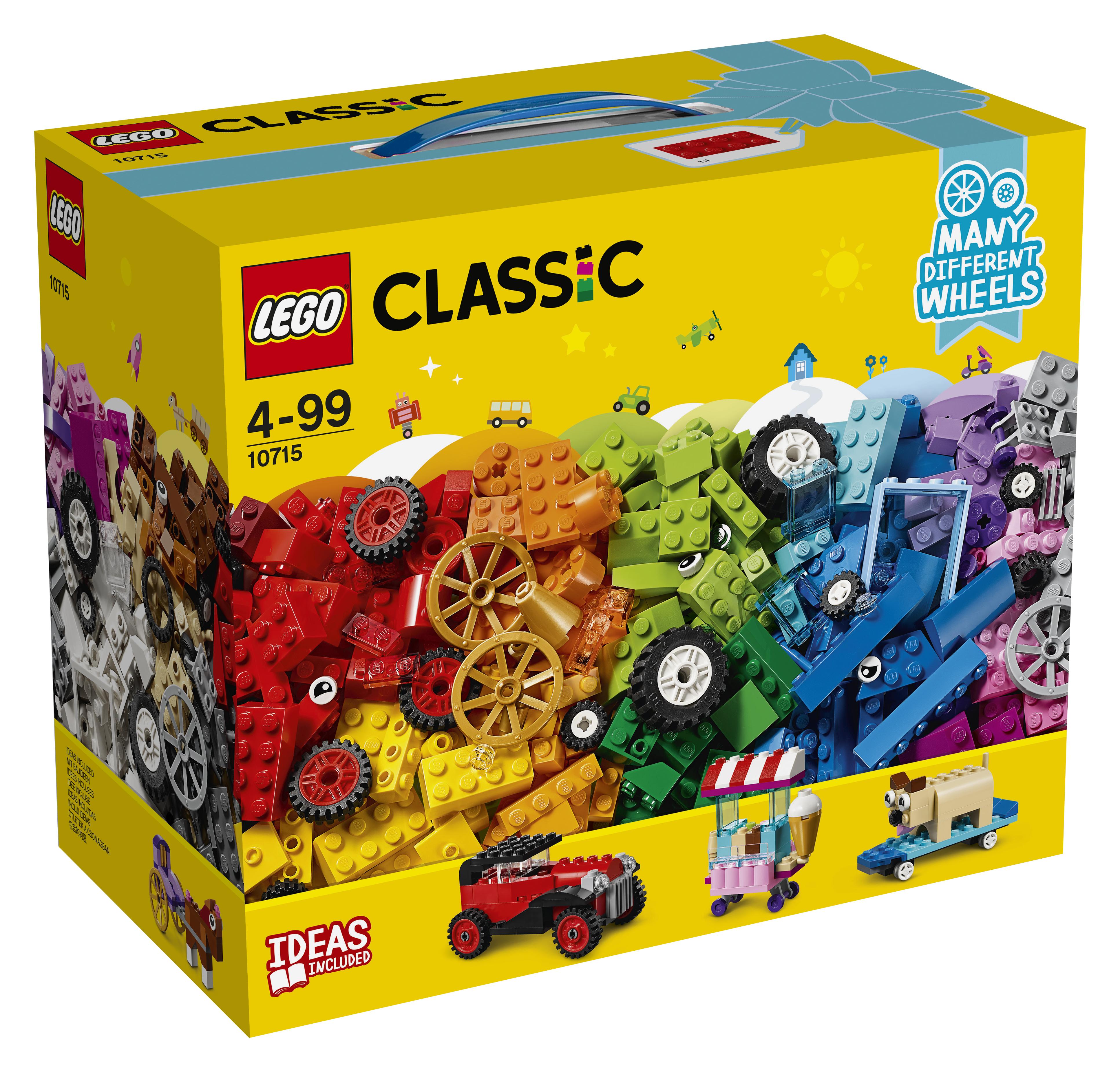 LEGO LEGO Конструктор LEGO Classic 10715 Модели на колёсах