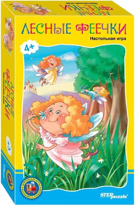 Фото - Настольные игры Step Puzzle Лесные феечки настольная игра step puzzle 76076