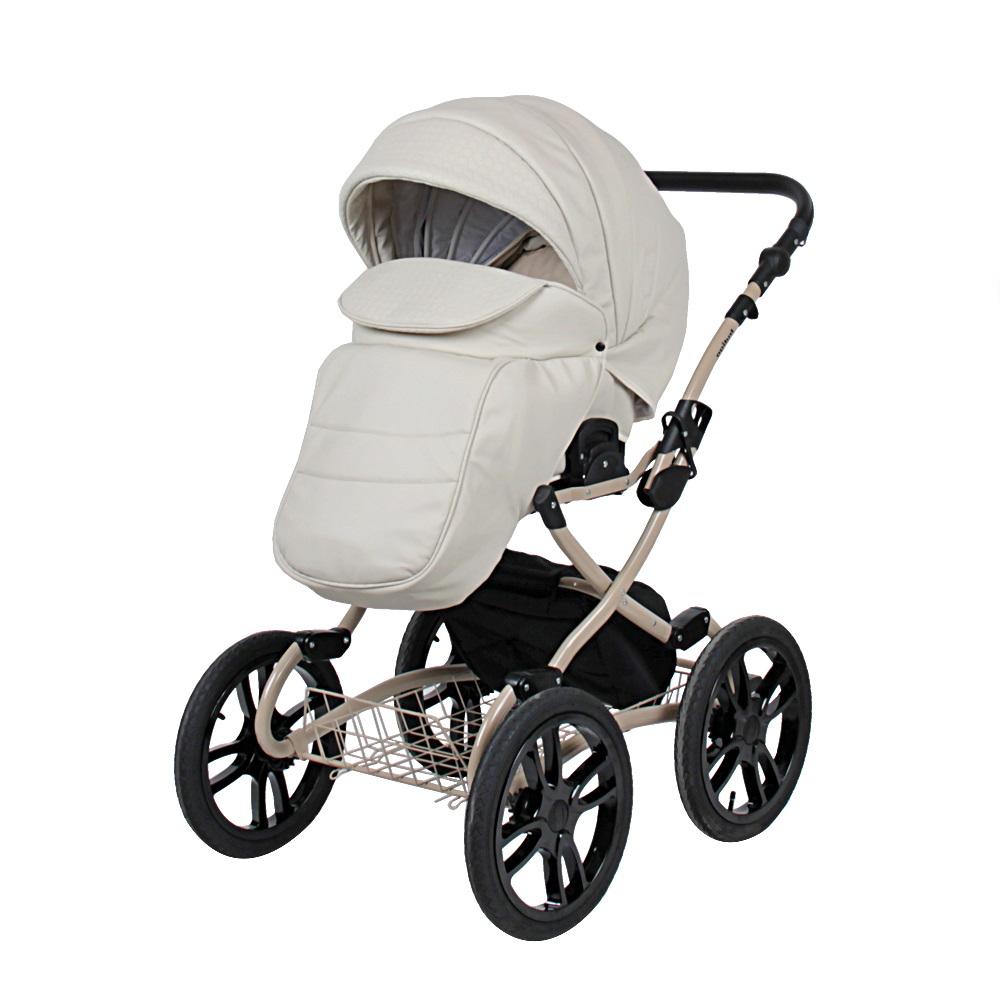 Классическая коляска 2 в 1 Indigo Indigo 18 Special Plus бежевый