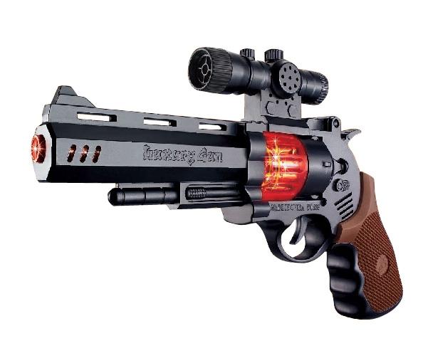 цены Игрушечное оружие и бластеры ABtoys Пистолет со светом и звуком
