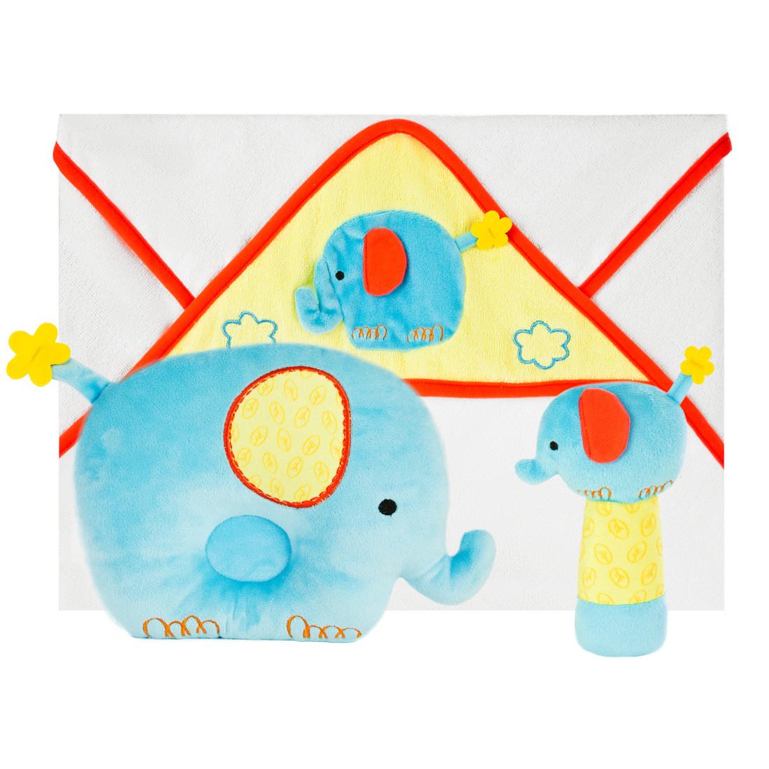 Подарочный набор Наша игрушка Добрый слоник арт дизайн подарочный набор открытка с ручкой самой фееричной тебе