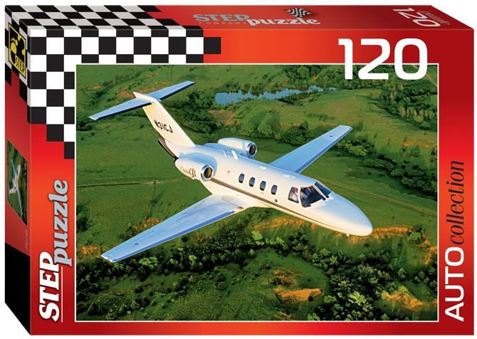 Пазлы Step Puzzle Золотая серия-10 (машины) 120 эл. в ассортименте пазл step puzzle 120 эл в ассортименте