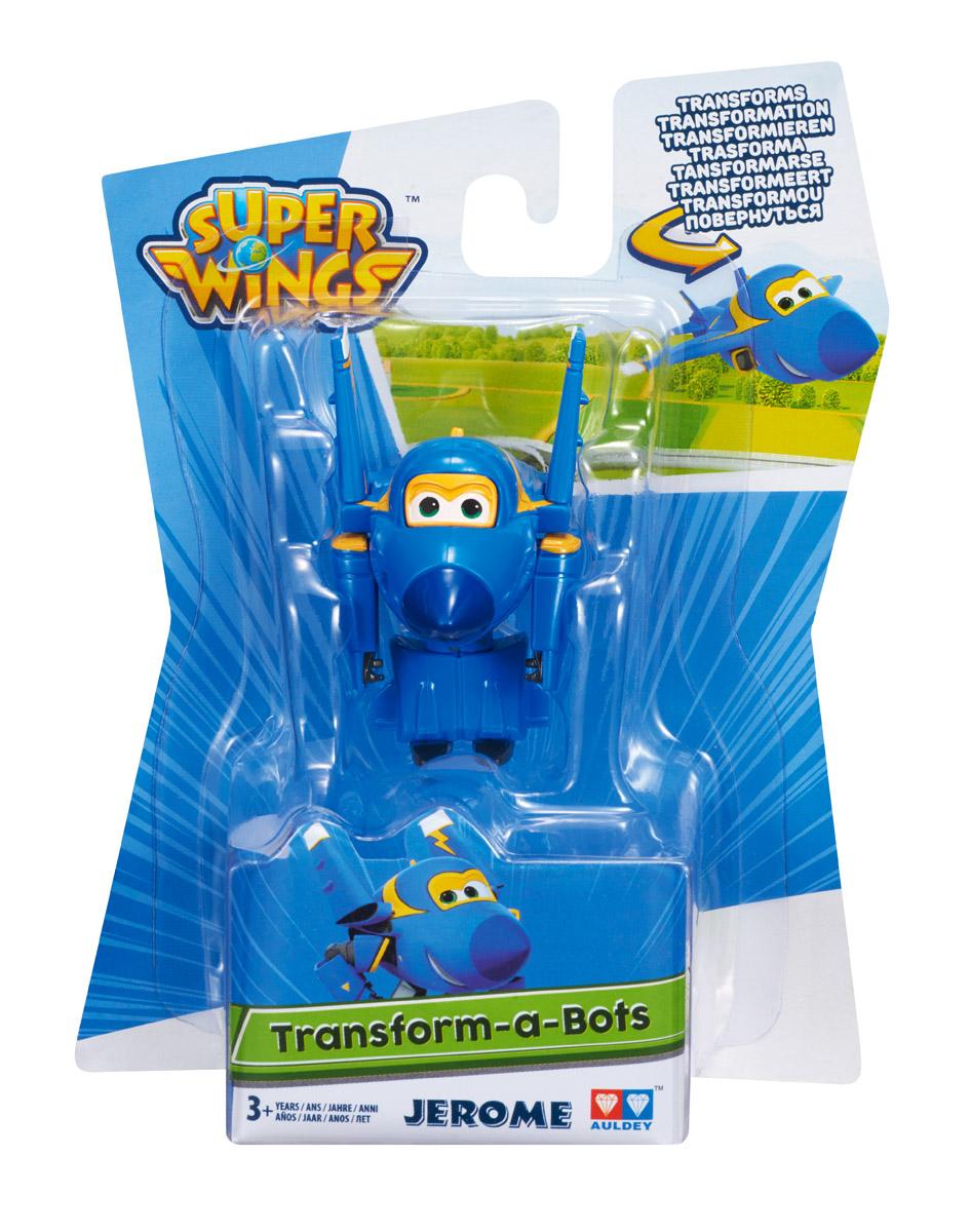 Трансформеры Super Wings Джером игрушка super wings мини трансформер чейс синий