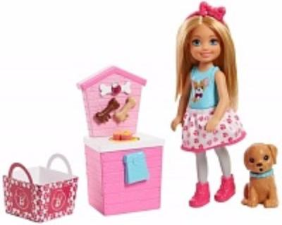 Barbie Barbie Игровой набор Barbie «Челси и щенок» в асс. barbie игровой набор космический замок dpb51