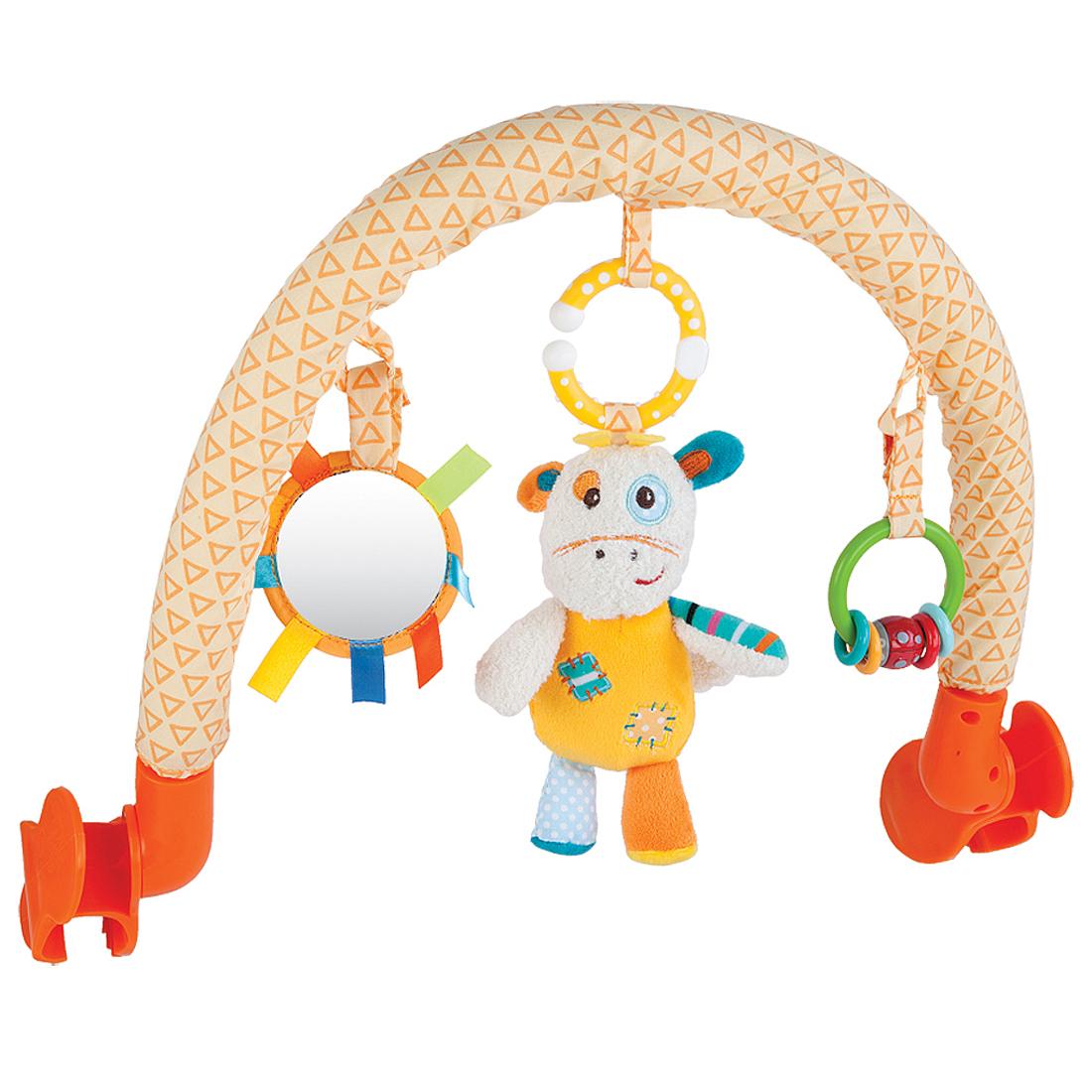 Подвески для малышей Наша игрушка Жирафик Дэнни дуга с подвесками жирафики жирафик дэнни