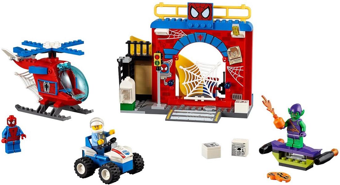 LEGO LEGO Juniors 10687 Убежище Человека-паука lego игрушка джуниорс убежище человека паука™ 10687 4