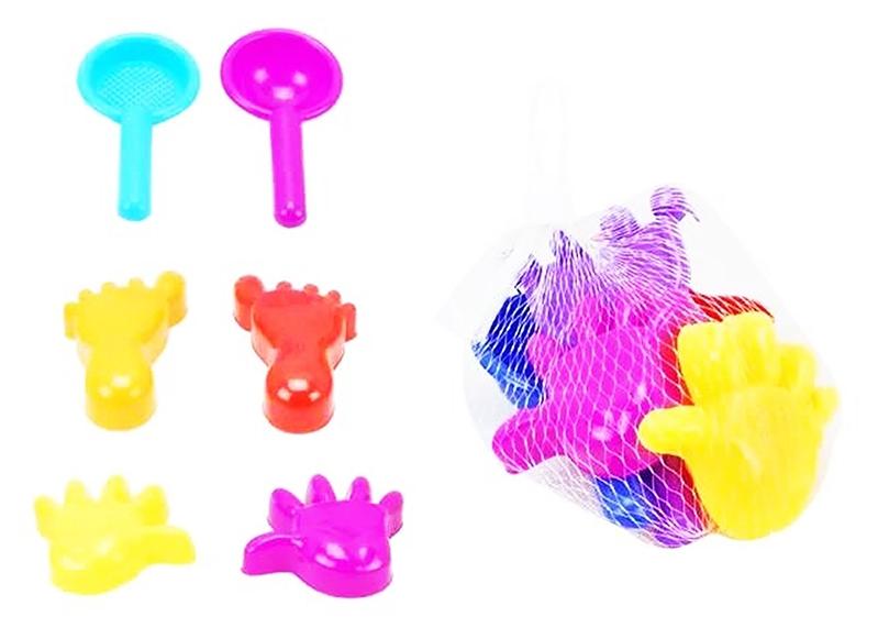 Набор для песка ABtoys Лучик PT-00699 abtoys набор игрушек для песочницы лучик 3 предмета