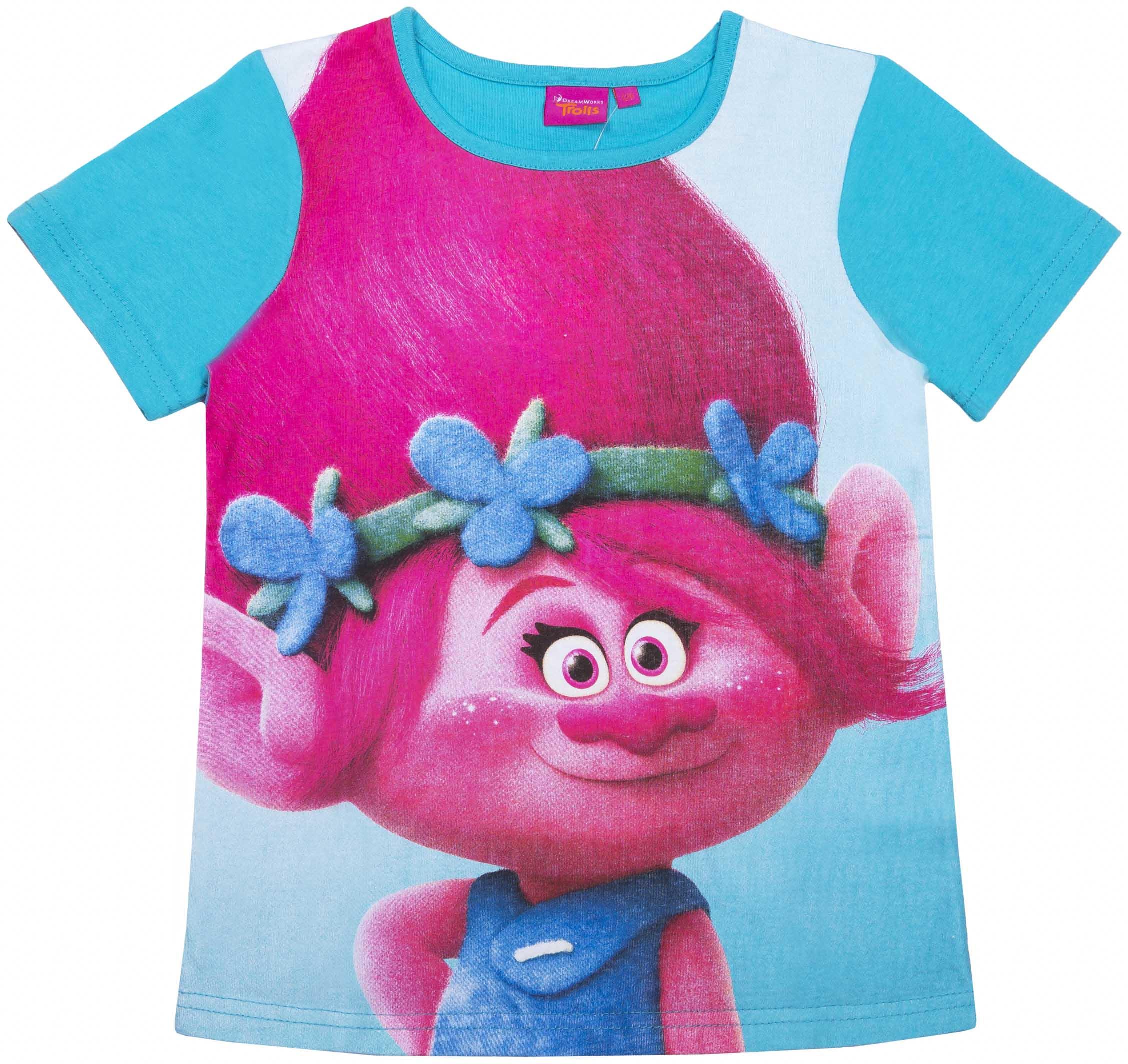 Фото - Футболка с коротким рукавом для девочки Trolls TRSM 27134 футболка с коротким рукавом для девочки trolls trsm 27133