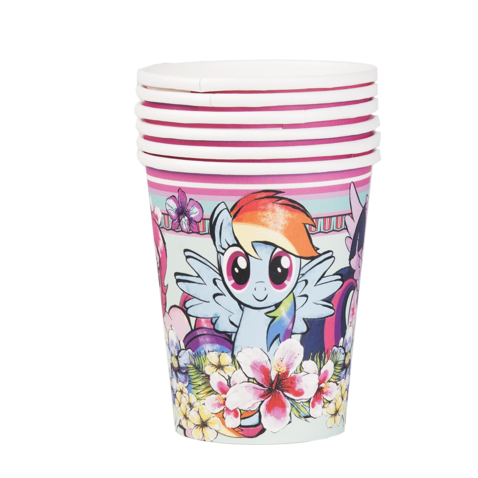 Набор стаканов My Little Pony 210 мл 6 шт