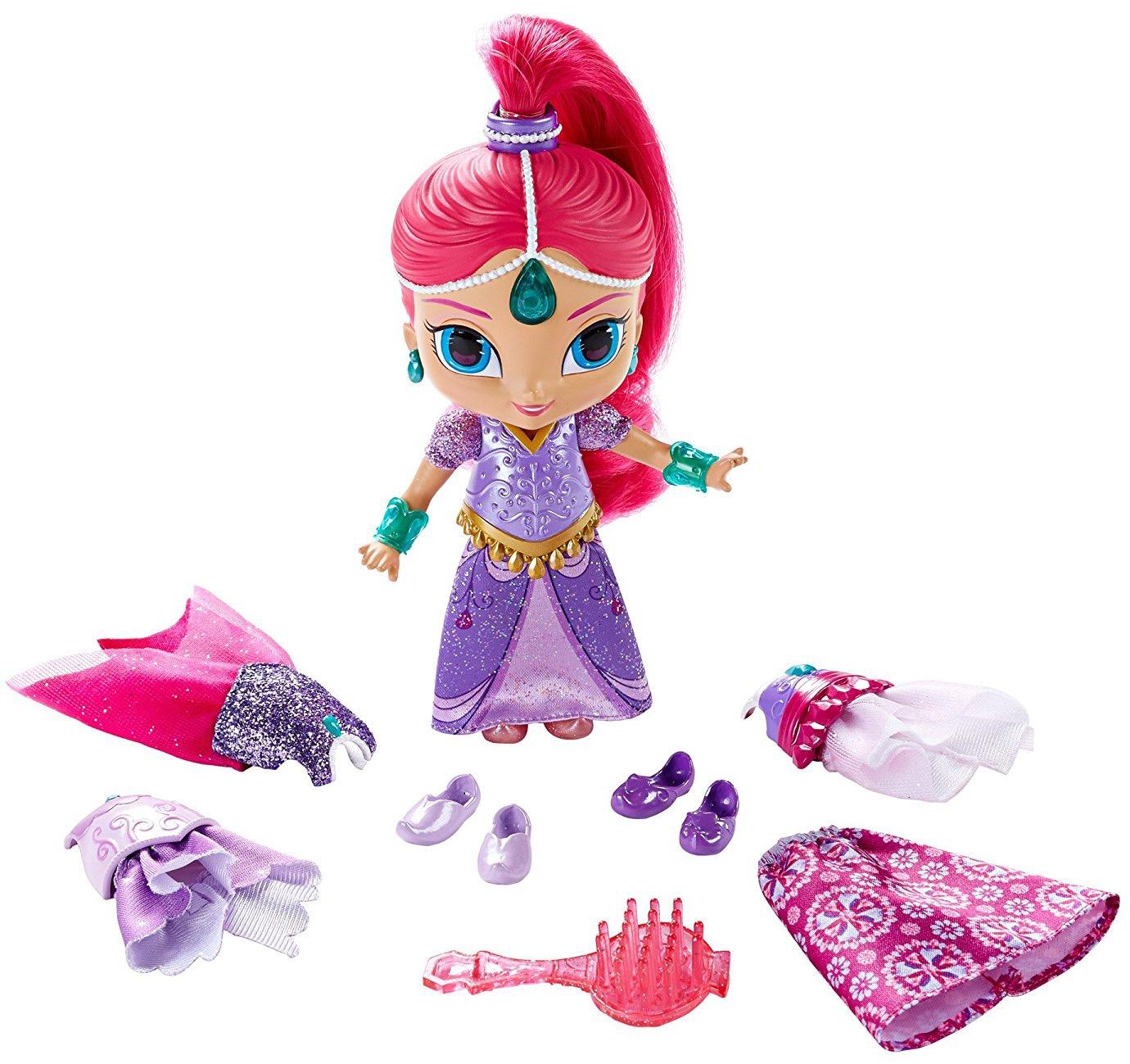 Купить Другие куклы, Кукла Shimmer&Shine в сверкающих нарядах 28 см, в ассортименте, Индонезия, Женский