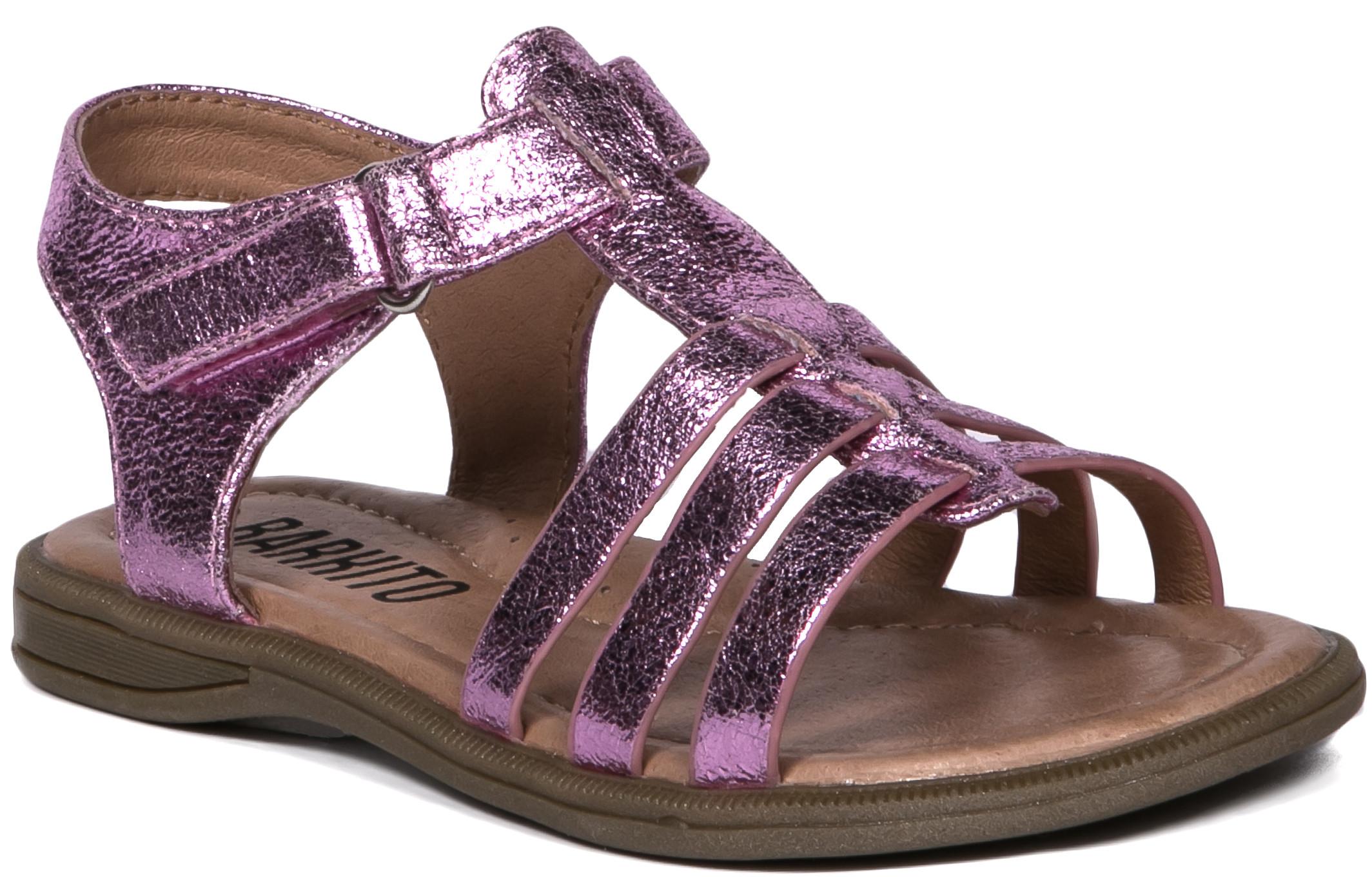 Босоножки Barkito Туфли летние для девочки Barkito, розовый цены онлайн