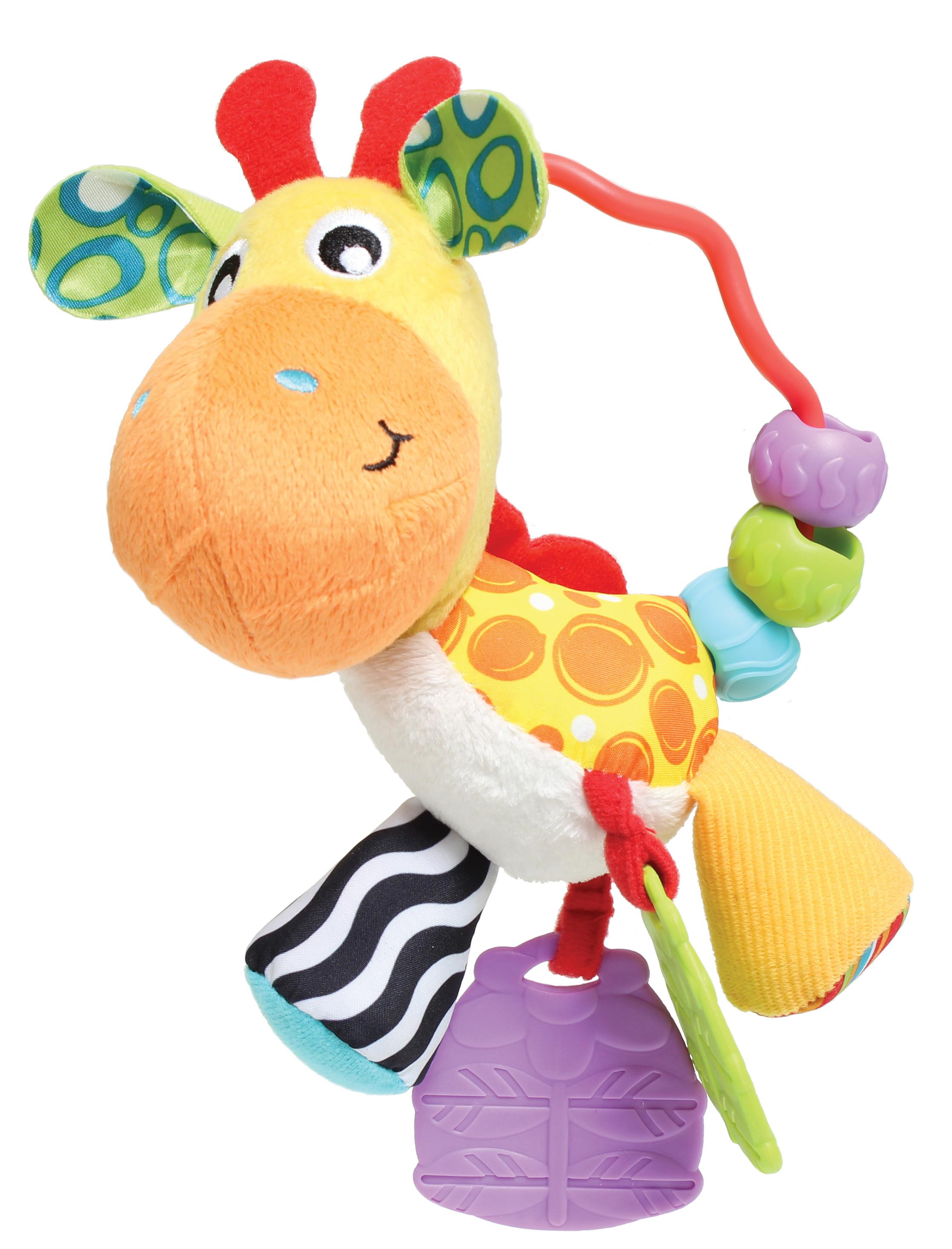 Купить Погремушка, Жираф, 1шт., Playgro 0186161, Китай, Мультиколор