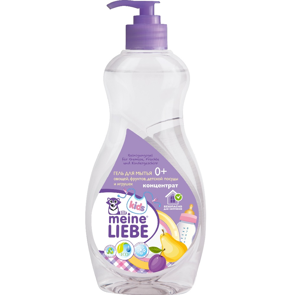 Средства для мытья посуды Meine Liebe Meine Liebe 485 мл цена и фото