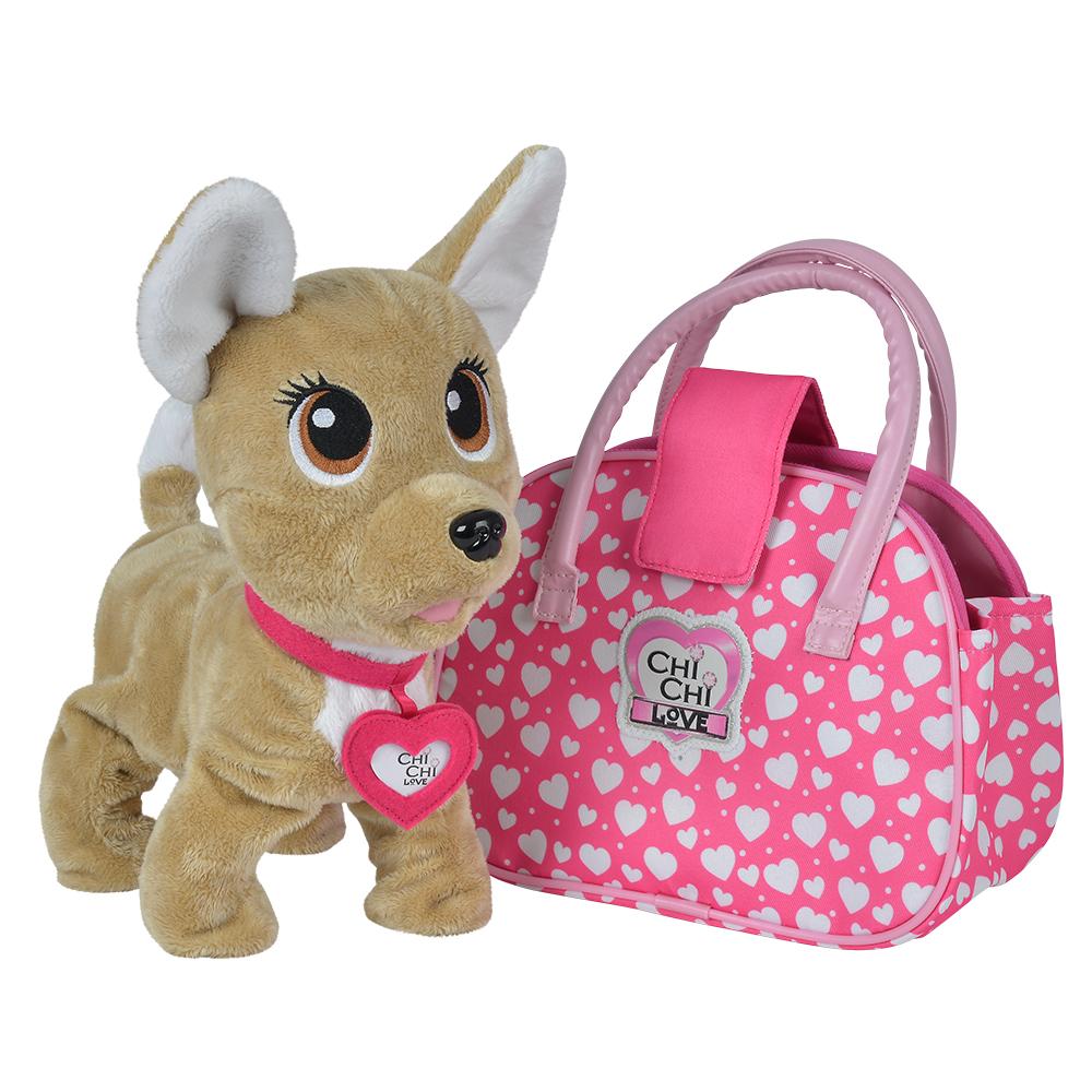 Игрушка для детей Chi Chi Love Счастливчик мягкие игрушки chi chi love плюшевая собачка чихуахуа в балетной пачке с розовой сумочкой 15 см