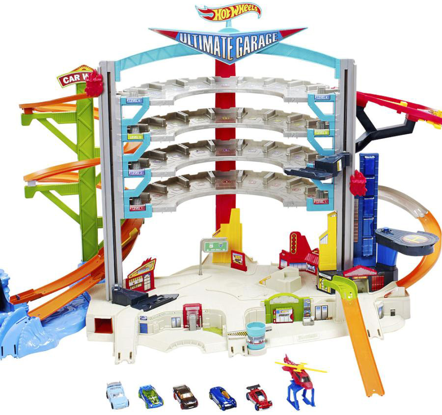 Треки Hot Wheels Невообразимый гараж hot wheels dwk99 трансформирующиеся игровые наборы призрачный гараж