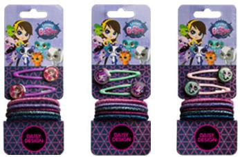 Набор для волос Daisy Design Littlest Pet Shop Любимые питомцы-1 Littlest Pet Shop аксессуары для волос riwa