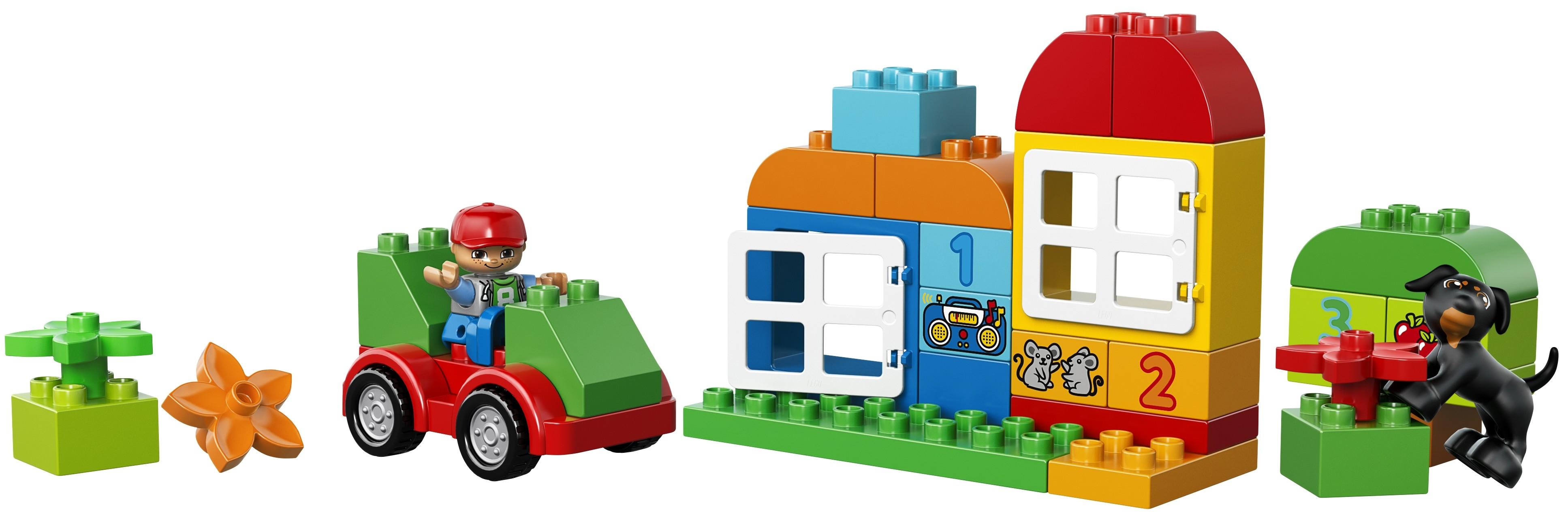 LEGO DUPLO LEGO Конструктор LEGO DUPLO 10572 Механик