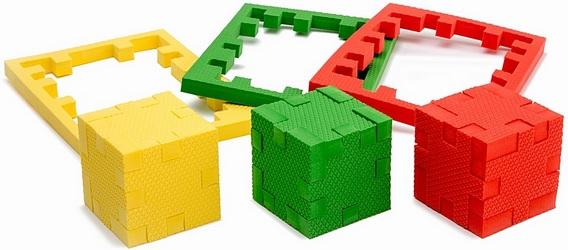 Развивающие игрушки Pic&Mix Обучающий пазл-конструктор Pic&Mix «Галактика» большой пазлы pic nmix мой дом