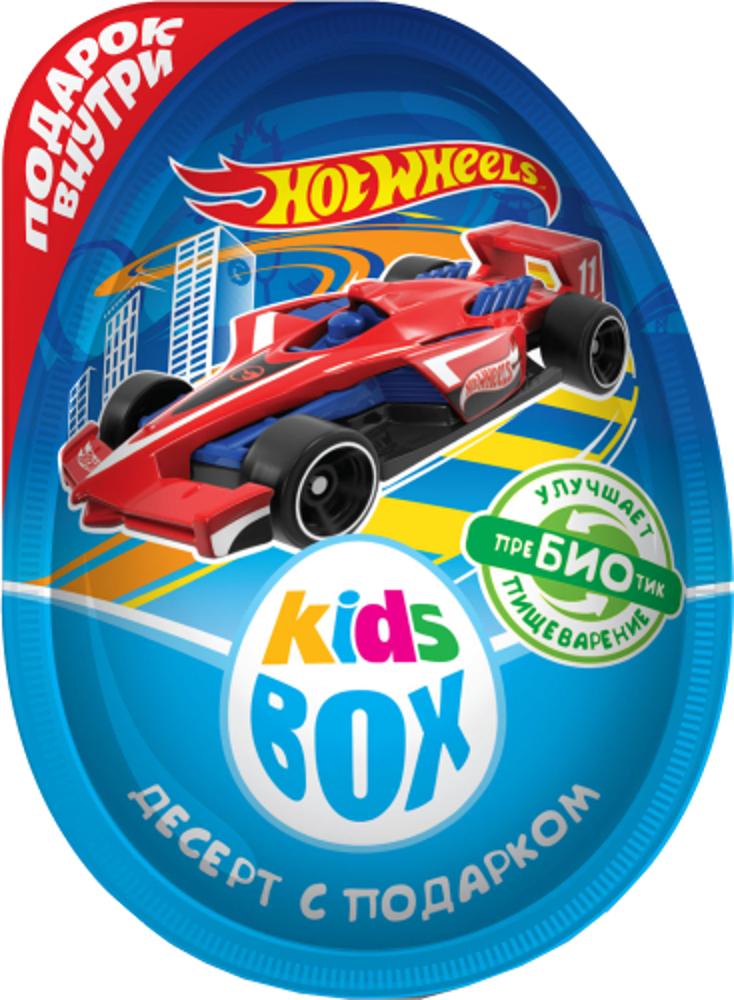 Десерт Hot Wheels Kids Box с подарком 20 г