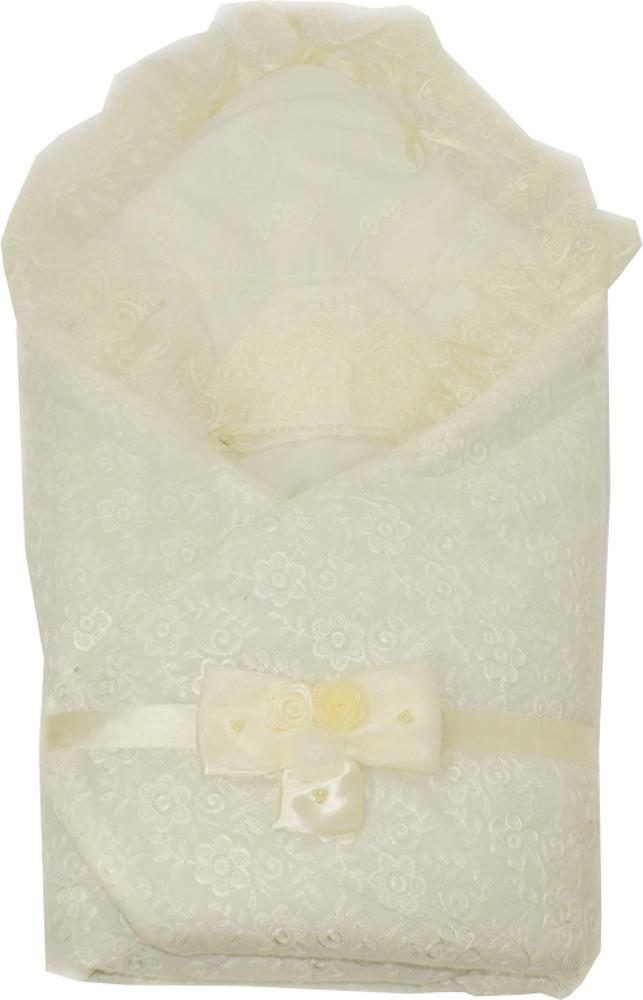Одеяло на выписку Мой малыш Экрю белое конверт с одеялом на выписку мой малыш мой малыш розовый