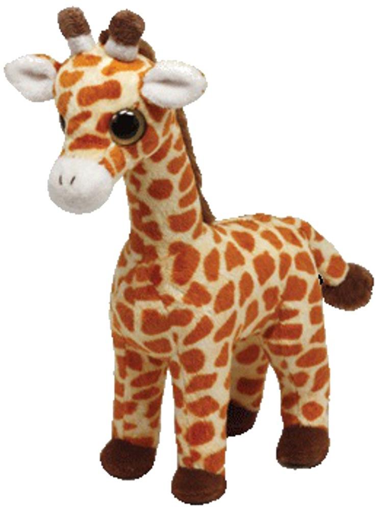 Мягкая игрушка TY Жираф Topper, 20 см