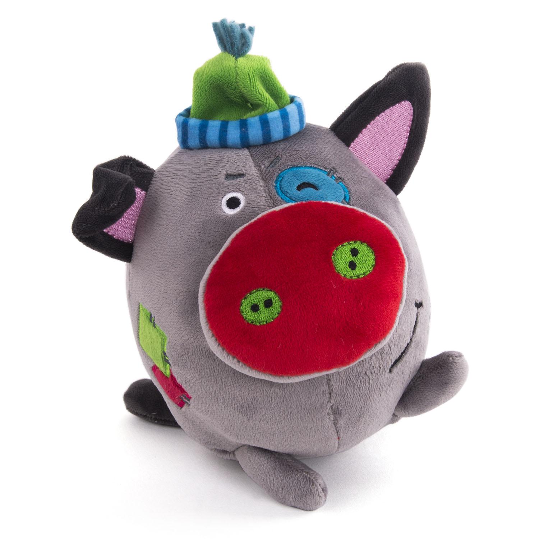 Мягкая игрушка Button Blue Поросенок Бандит. Символ года 2019