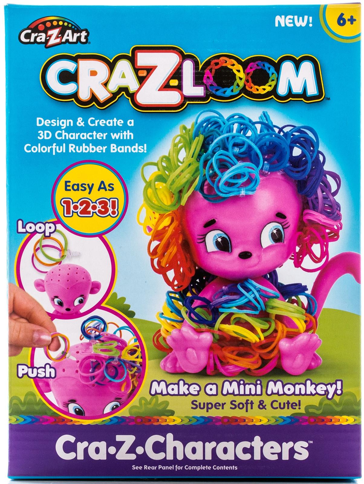 Наборы для творчества Cra-Z-Loom Набор для творчества Cra-z-Loom «Обезьянка» набор резиночек для плетения 1 toy winx т58328