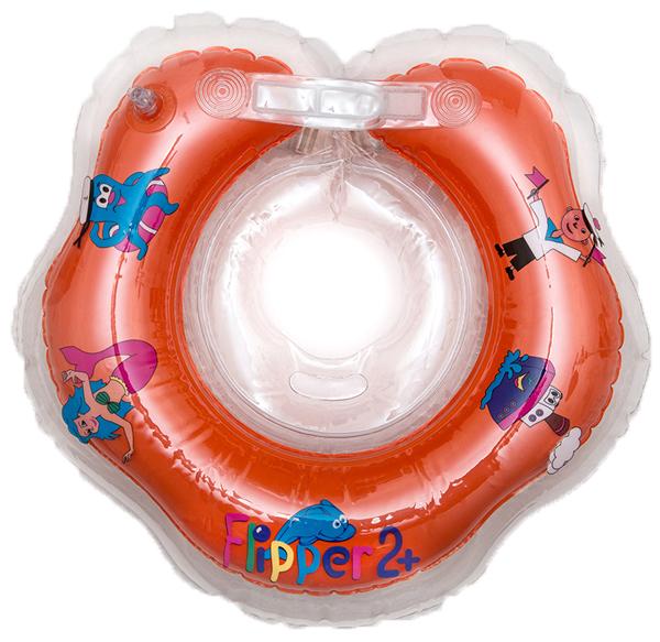 Коврики и круги Flipper Круг для купания на шею Flipper с 18 мес. круг для купания младенцев flipper отзывы