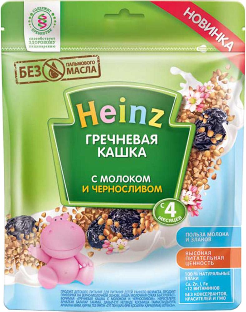 Молочные Heinz Каша молочная Heinz гречневая с черносливом с 4 мес. 250 г каша молочная heinz 5 злаков банан яблоко с 6 мес 250 г