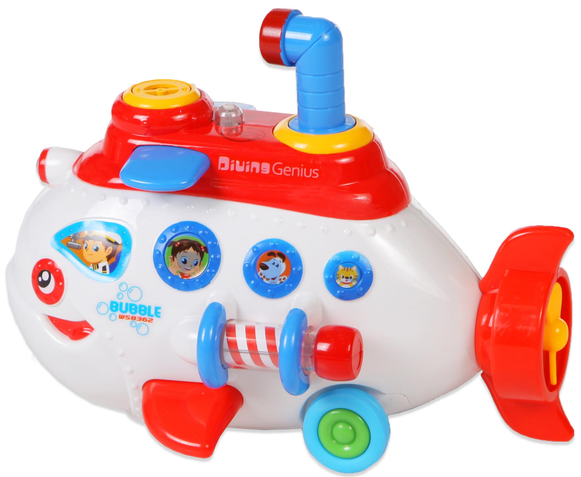 Игрушки для ванны Bairun Субмарина набор для выращивания eco субмарина 1128563