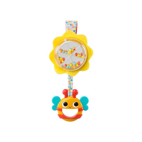 Развивающие игрушки BRIGHT STARTS Развивающая игрушка-погремушка Bright Starts «Пчёлка» игрушка bright starts веселый жирафик