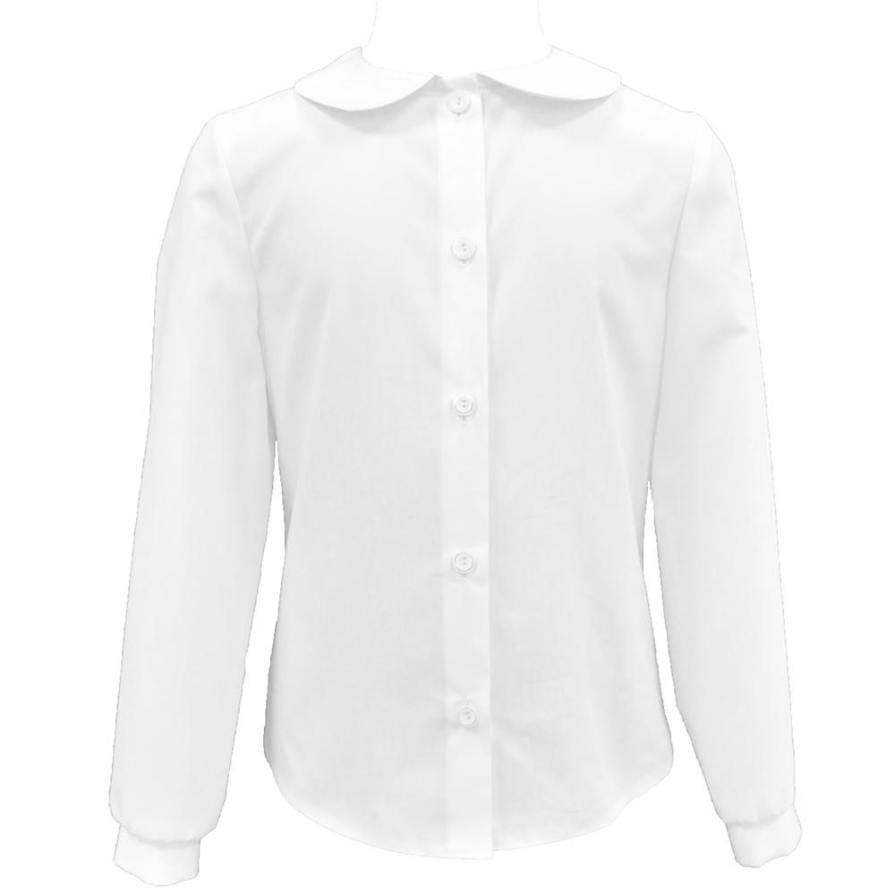Форма для девочек Смена Блузка Смена белая смена смена блузка белая