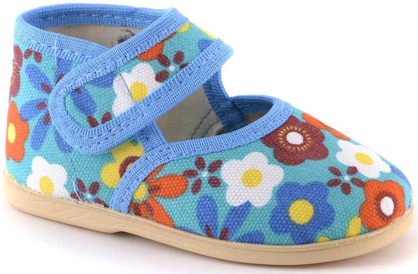 Тапочки Домашки Туфли для мальчика Домашки голубые туфли закрытые голубые keddo