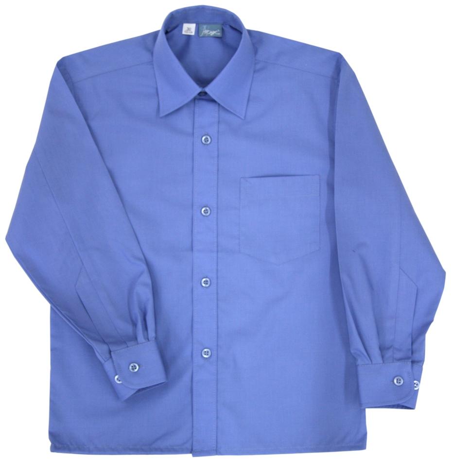 Форма для мальчиков АТРУС Сорочка голубая АТРУС голубая рубашка