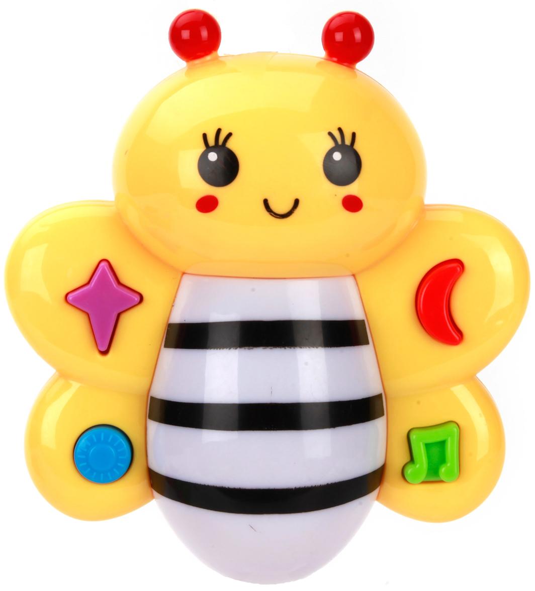 Погремушки Умка Погремушка Умка «Музыкальная пчелка» карандаш с вашим именем пчелка