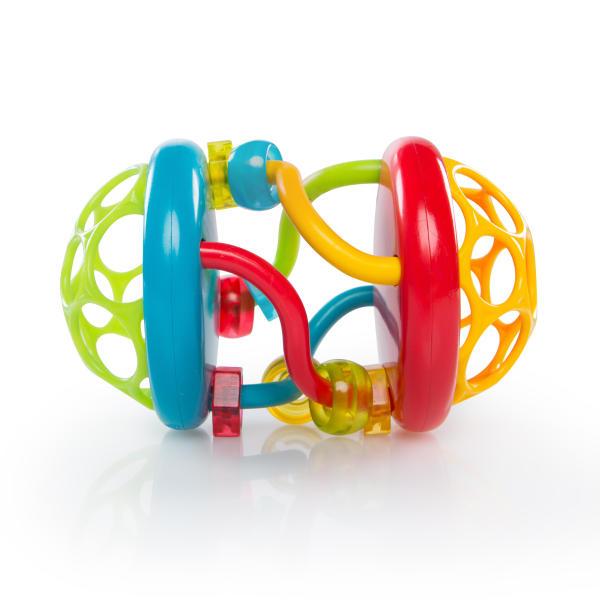Погремушки Oball Развивающая игрушка Oball «Весёлые бусины» стоимость