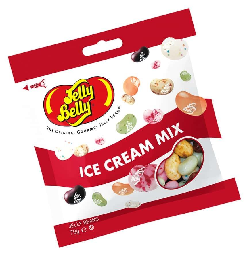 Жевательное драже Jelly Belly Ассорти мороженое 70 г