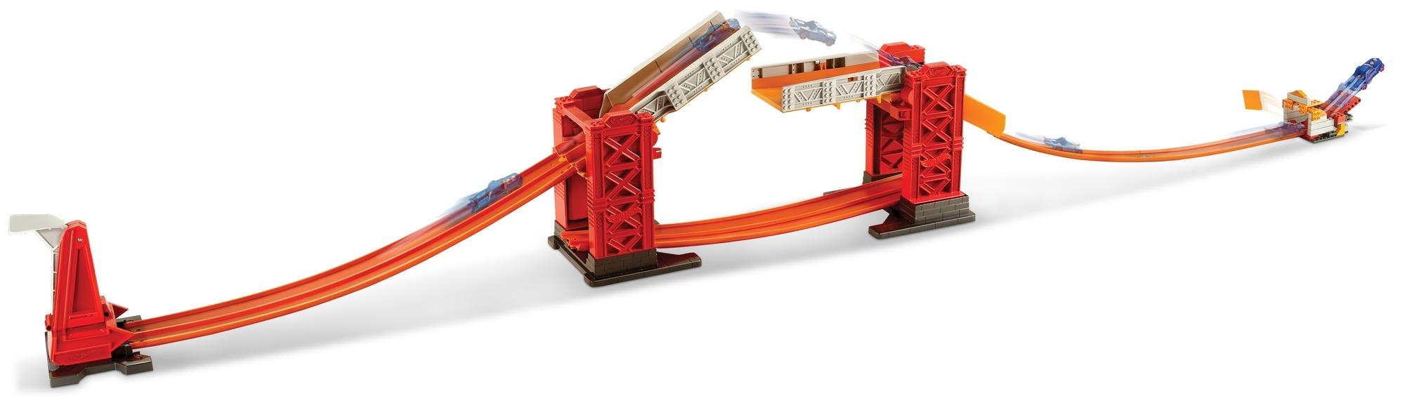 Треки Hot Wheels Разводной Мост DWW97 диодный мост для мазда 6 а2тj0391в