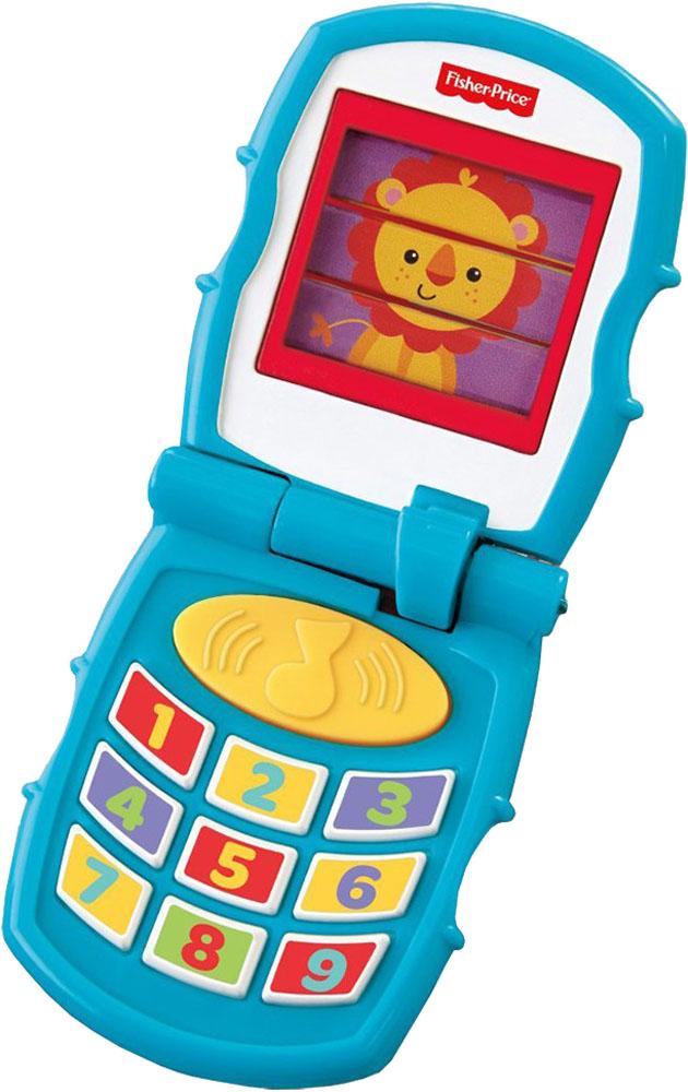Развивающая игрушка Fisher Price Дружелюбный раскладной телефон elari часы телефон elari kidphone 3g красные