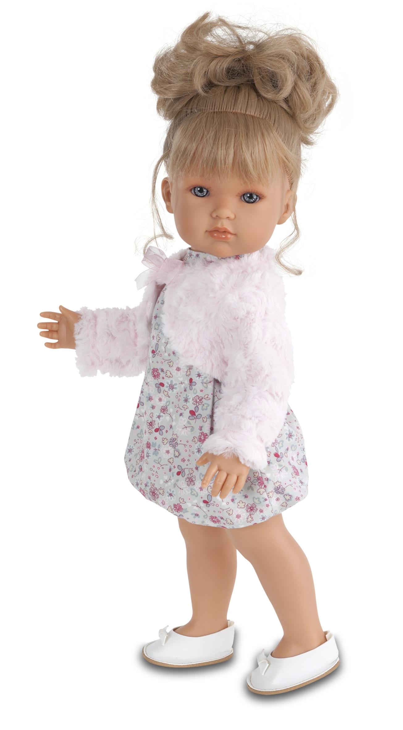 Кукла Munecas Antonio Juan Белла в розовом болеро