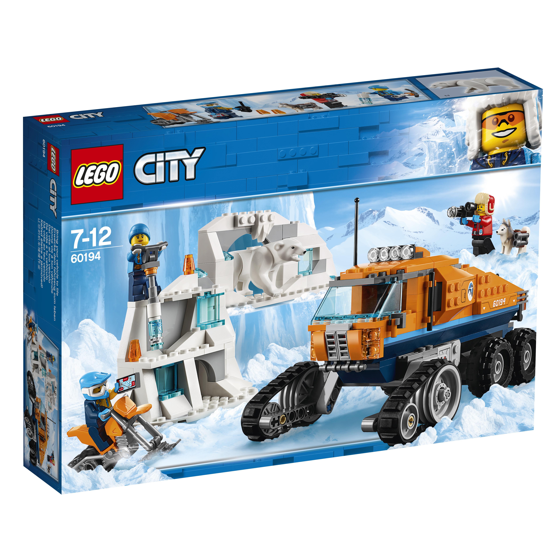 Конструктор LEGO Грузовик ледовой разведки конструктор металлический грузовик и трактор 345 элементов