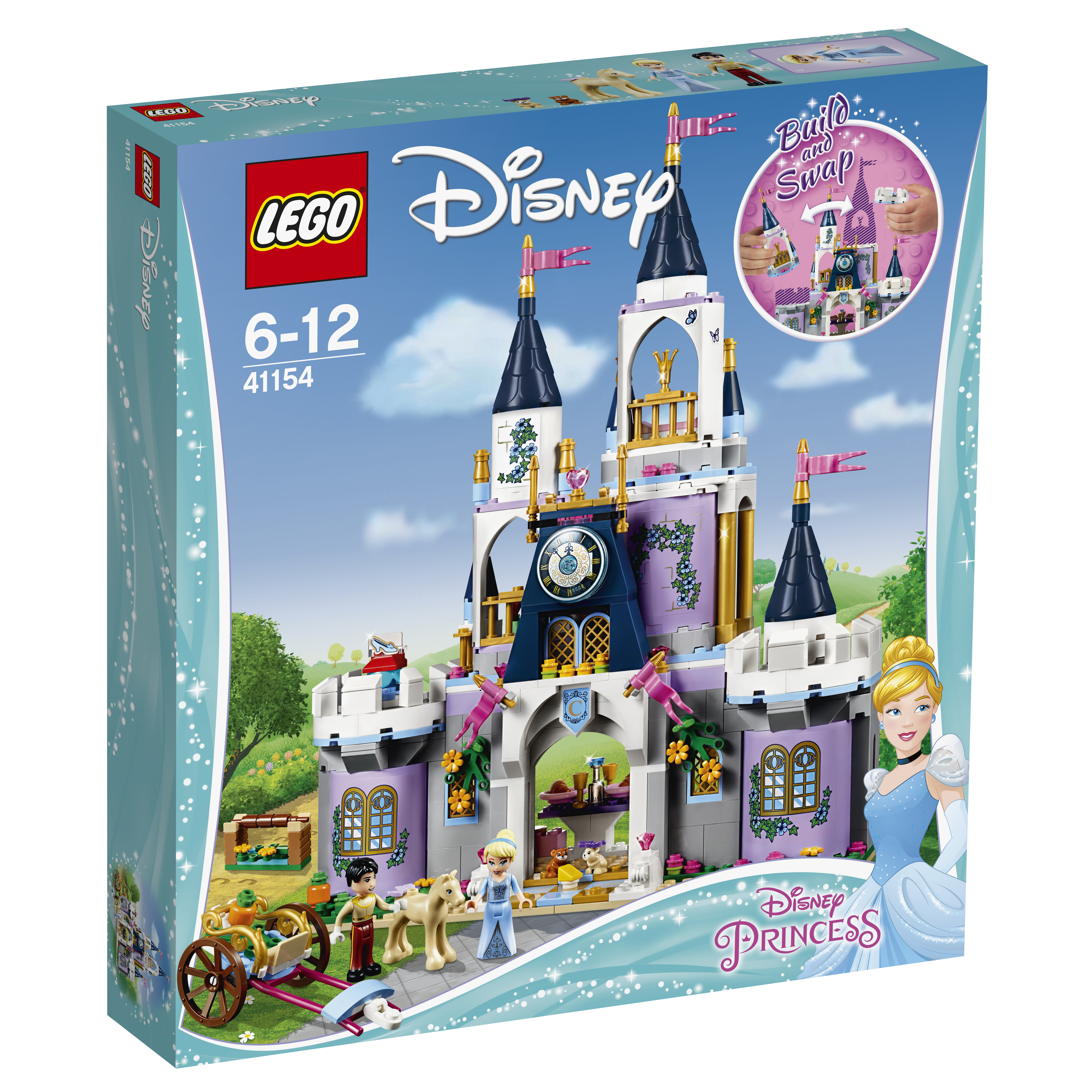 LEGO LEGO Конструктор LEGO Disney Princess 41154 Волшебный замок Золушки конструктор lego disney princess королевские питомцы жемчужинка 41069