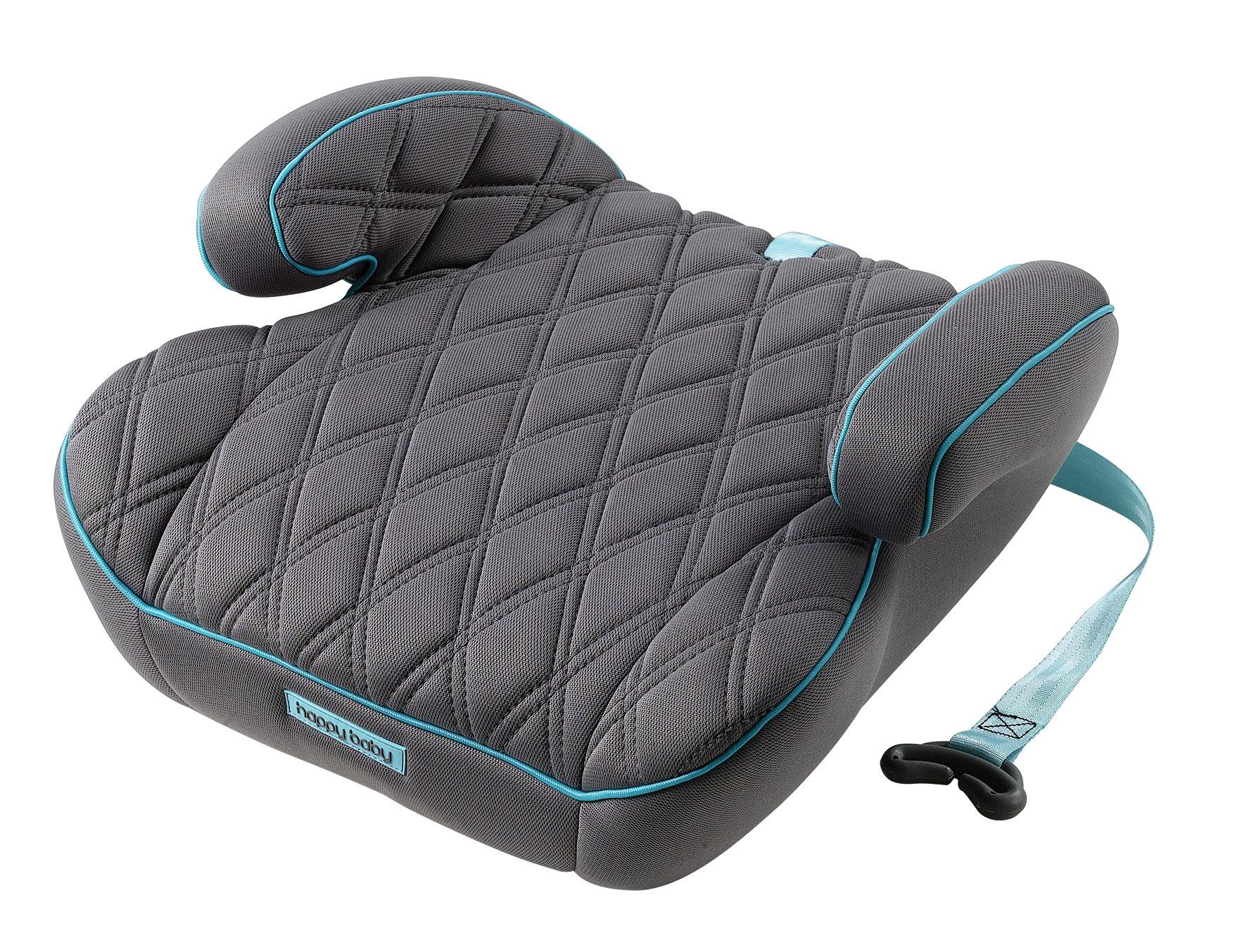 Автокресла группа 2/3 (15-36 кг) Happy baby Booster Rider 15-36 кг Aqua автокресло happy baby авто бустер booster rider aqua