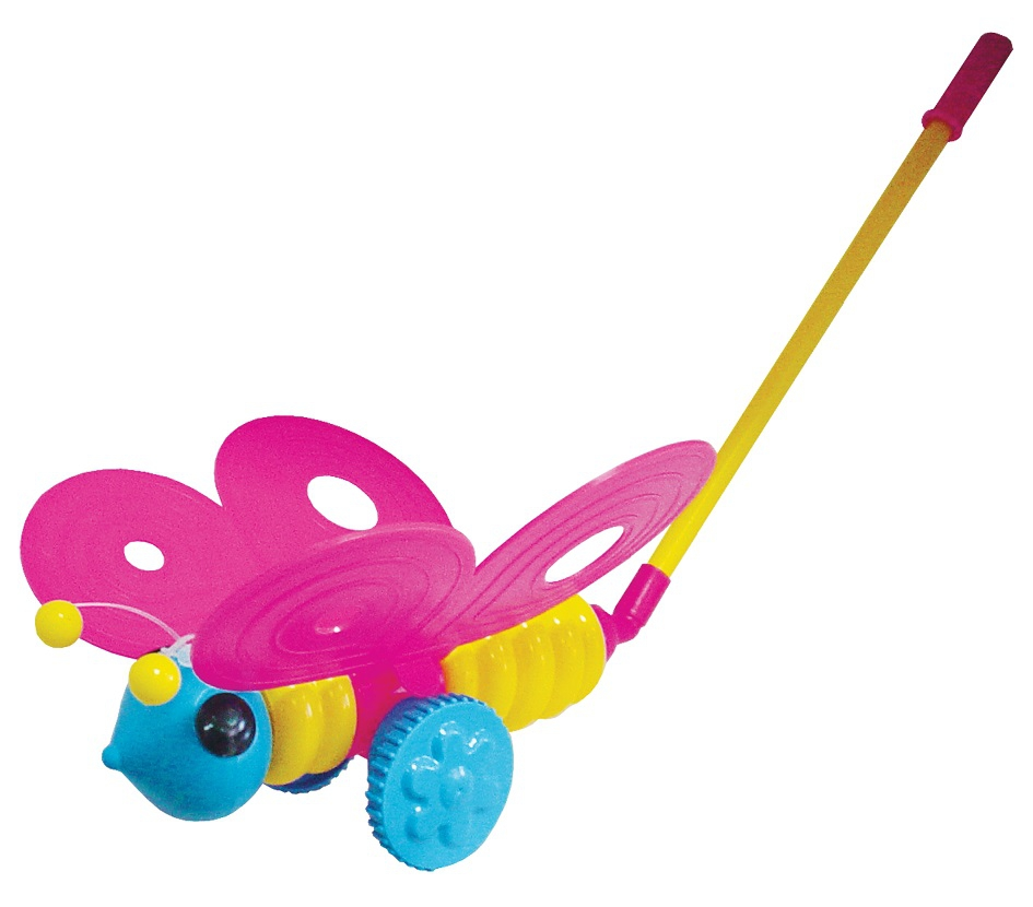 Каталка Пластмастер Бабочка пластмастер игрушка каталка мотоцикл