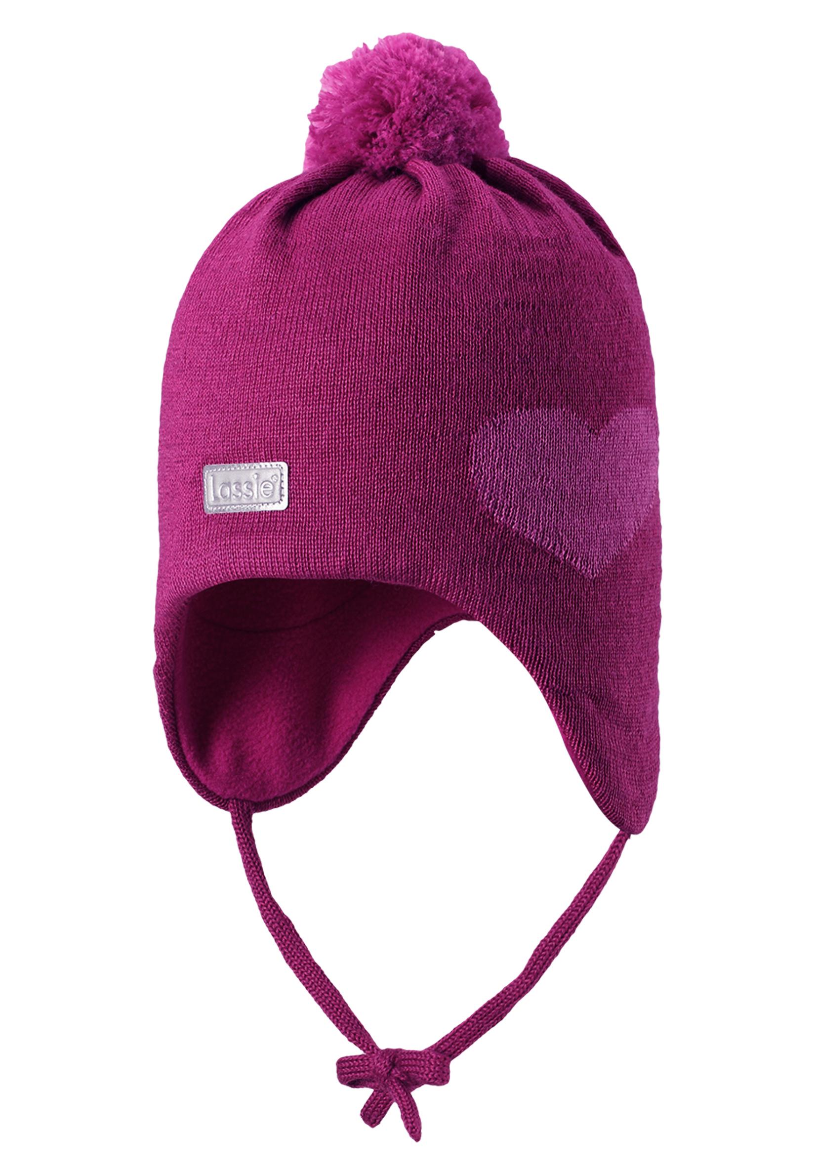 Шапка для девочки Reima розовый шапка для девочки lassie цвет розовый 7287185161 размер 50 52