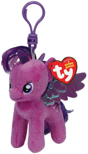 My Little Pony TY Пони Twilight Sparkle на брелке мягкая игрушка мягкие игрушки ty мягкая игрушка