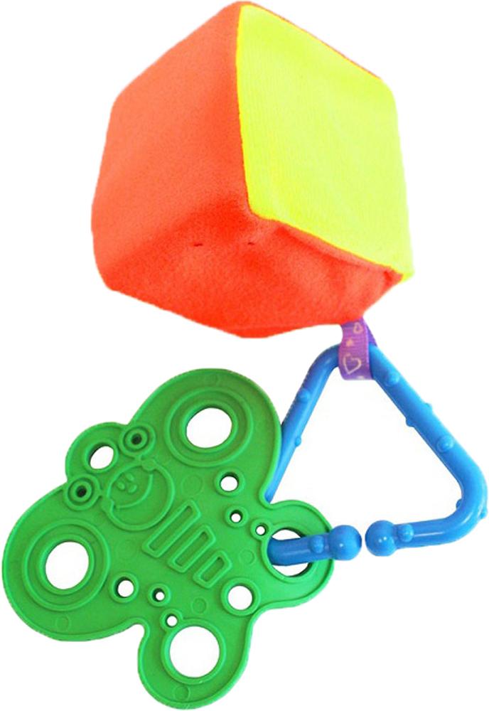 Купить Погремушки, Кубик радужный №2, Пластмастер, Россия, оранжевый, зеленый, синий